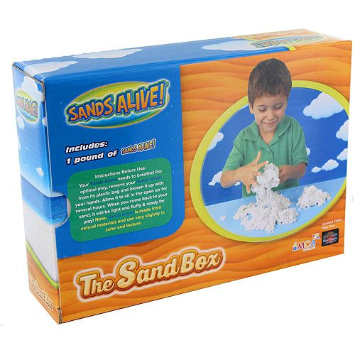 Sands Alive! The Sand Box - 1lb Original Sand - Image two