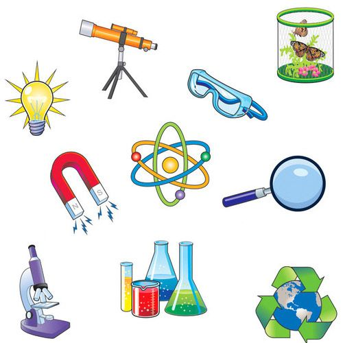 Science Pics Magnet Set - Image one