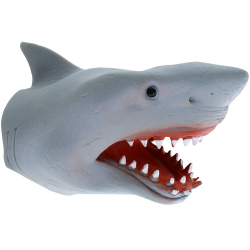 Shark Hand Puppet - Image one