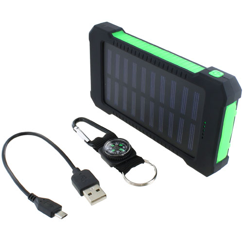 Solar Mobile PowerBank - Water-Resistant - Image one