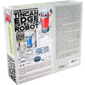 Tin Can Edge Detector Robot 4M Kit - Image One