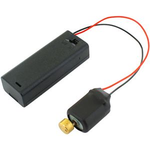 Vibration DC Motor + AA Battery Holder w/Switch - Image One