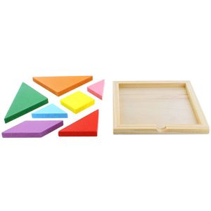 Wooden Tangram Puzzle - Image two