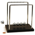 Newtons Cradle - Large - 7 inches.