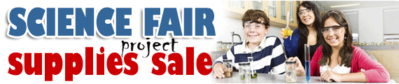 Science Fair Supplies Sale