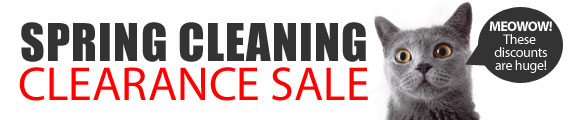 Spring Cleaning Clearance Sale - Save up to 75% OFF select items@