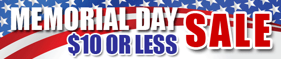 Memorial Day 2020 SALE - $10 of Less