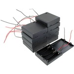 Photo of the: 10 pack 4xAA Battery Holders with Cover & Switch