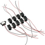 10 pack Buzzers with Leads - 9V.