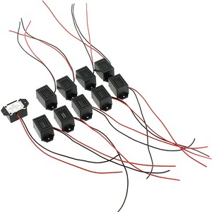Photo of the 10 pack Buzzers with Leads - 9V