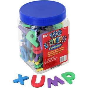 Photo of the: 120 Magnet Letters Set