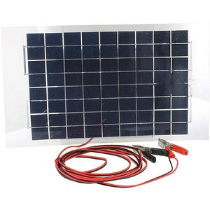 Photo of the: 12V 10W Waterproof Solar Panel