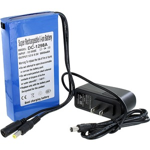 Photo of the 12V 9800mAh Lithium Battery