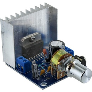 Photo of the 15W Stereo Audio Amplifier