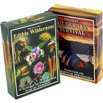 2-Pack Edible Wilderness and Survival Cards.