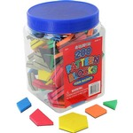 Photo of the: 200 Magnet Pattern Blocks Set