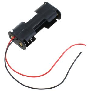 Photo of the: 2 x AA Battery Holder B2B with Leads - 3V