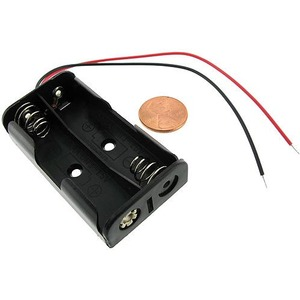 Photo of the: 2 x AA Battery Holder with Leads- 3V
