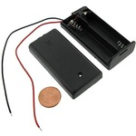Photo of the: 2xAA Battery Holder with Cover & Switch