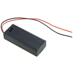 Photo of the: 2 x AAA Battery Holder with Switch and Leads - 3V