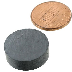 Photo of the 3/4 inch Disc Levitation Magnet