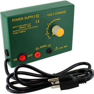 Photo of the: 3V-12V DC Variable Power Supply