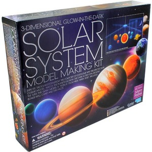 Photo of the 3D Solar System Mobile 4M Kit