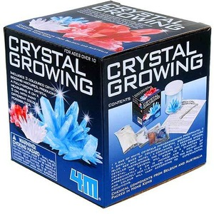Photo of the 4M Crystal Growing Kit
