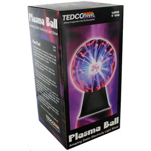 Photo of the 6 inch Plasma Ball