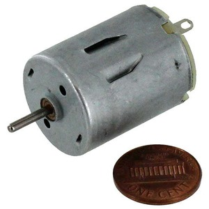 Photo of the: 6V DC Motor 340mA 14400RPM