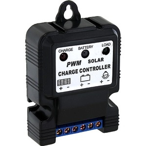 Photo of the 6V/12V 10A Solar Charge Controller