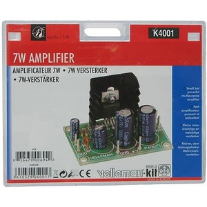 Photo of the: 7W Mono Amplifier Solder Kit