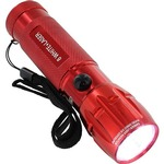 Buy 8 White LED + Red Laser Flashlight.