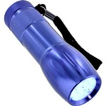 Photo of the: 9 LED UV Blacklight Flashlight