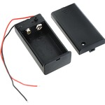 Photo of the: 9V Battery Holder with Cover & Switch