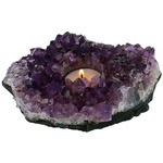 Amethyst Candle Holder.