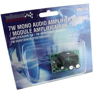 Photo of the: Assembled 7W Mono Amplifier