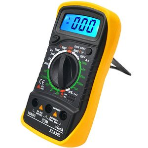 Photo of the: Backlit Digital Multimeter