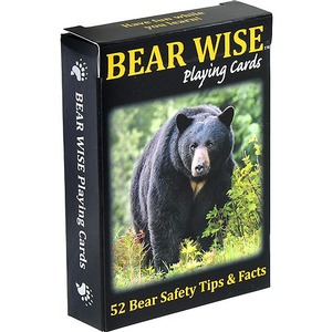 Photo of the: Bear Smart Playing Cards
