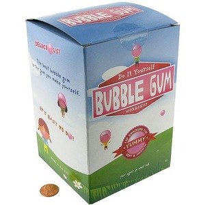 Photo of the: Make Your Own Bubble Gum Kit
