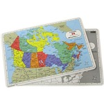 Photo of the: Canada Map Placemat