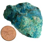 Photo of the: Chrysocolla - Bulk Mineral