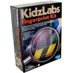 Photo of the: Detective Science Fingerprint 4M Kit