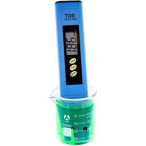 Photo of the: Digital Particle/Temperature Meter - TDS-3