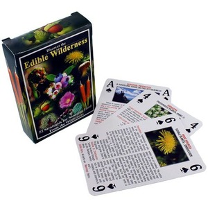 Photo of the: Edible Wilderness Playing Cards