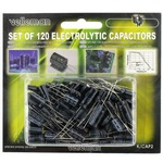Photo of the: Electrolytic Capacitors Set - 120pcs