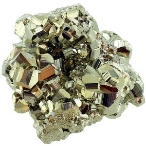 Photo of the: Faceted High Grade Iron Pyrite 2-3 inch Chunk