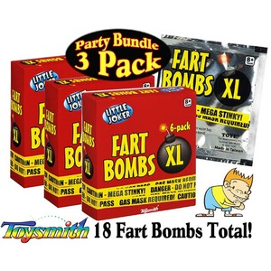 Photo of the: Fart Bombs XL - 3 pack