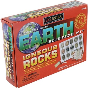 Photo of the: GeoCentral Igneous Rock Science Kit