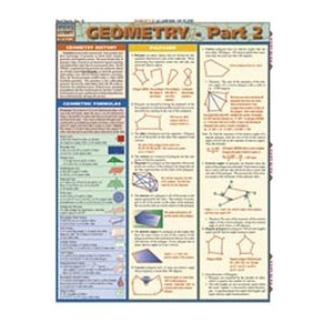 Photo of the: Geometry 2 Study Chart